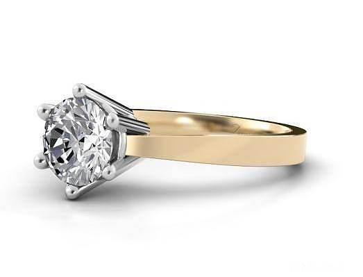 想入手个克拉钻 大家帮我挑个款式吧 ..._钻石