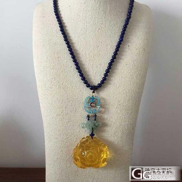 想买一条洋气点的吊坠 不要银子、玉和..._珠宝