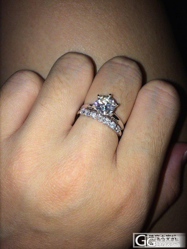 订婚啦。Tiffany小闪闪~~幸福..._钻石