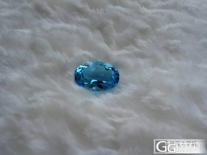 几颗10多CT的,行家掌个眼,合适不..._海蓝宝刻面宝石