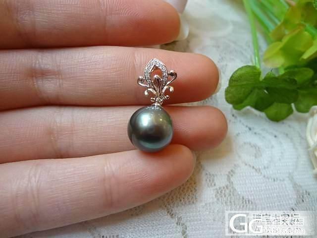 半糖主义珍珠吊坠和戒指欣赏_钻石
