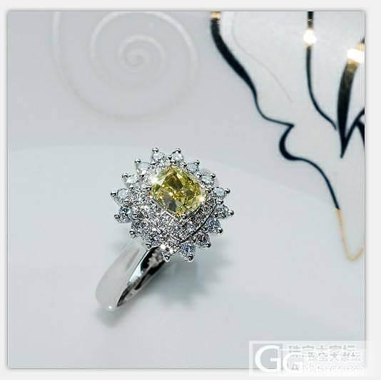 另有玄机 最新款克拉黄钻出货了  很..._钻石