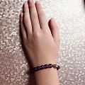 巴西紫晶手链