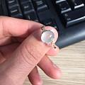 出高冰翡翠戒指